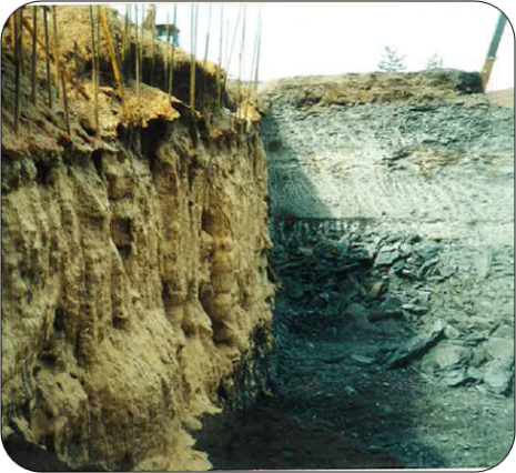 Chemical soil grouting foundation repair t luckey for Soil support